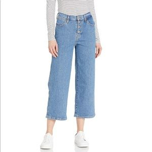 Levi's New Mile High Wide Leg Crop Jeans